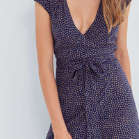 Kimchi Blue Shea Printed Wrap Jumpsuit | Urban Outfitters