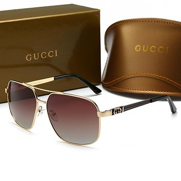 GUCCI Popular Woman Men Casual Summer Sun Shades Eyeglasses Glasses Sunglasses