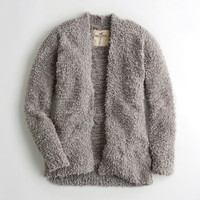 Girls Chunky Knit Cardigan | Girls Tops | HollisterCo.com