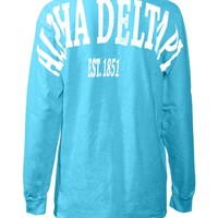 Alpha Delta Pi Stadium Shirt - Stadium Prints - Shop by Sorority