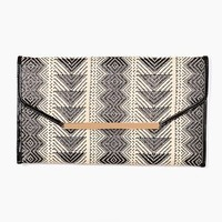 Woven Envelope Clutch in What's New at Nasty Gal