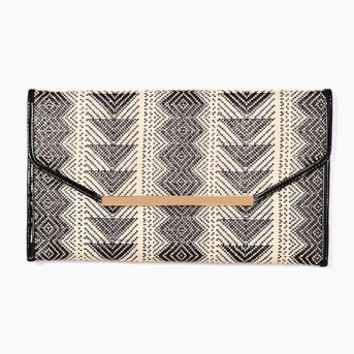 Woven Envelope Clutch in  Accessories at Nasty Gal