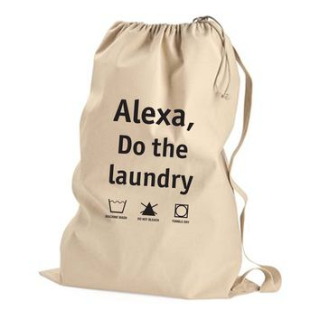 Alexa, Do the Laundry - Non Custom Laundry Bag