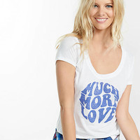 Express One Eleven Much More Love Graphic Tee