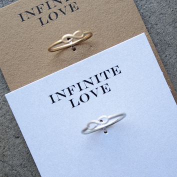 dogeared - infinite love infinity ring