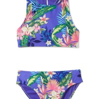Tropical racerback swim two-piece | Gap