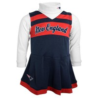 New England Patriots Cheerleader Jumper Set - Toddler