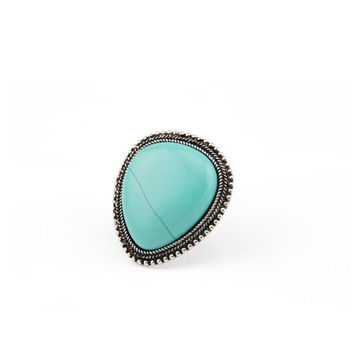 Turquoise Stud Ring