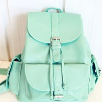 Candy Color Backpack from topsales