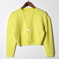6 Colors Soft Casual Knit Sweater