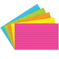 Index Cards 3 X5 Lined 75 Ct Brite