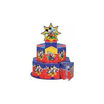 Disney Mickey Mouse Favor Box Centerpiece Decoration For 8