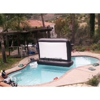 Amazon.com: 7' Aquascreen - Floatable Inflatable Movie Screen (.5mm Pvc): Toys & Games