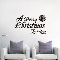 Glass Bedroom Wall Sticker Innovative Living Room Christmas Decoration Stickers [9357010372]
