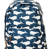 The Principle Backpack II in Whale Print
