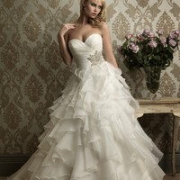 Allure Bridals 8862 Ruffle Ball Gown Wedding Dress