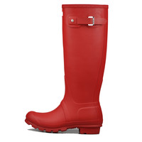 Hunter Original Tall Rain Boot Military Red