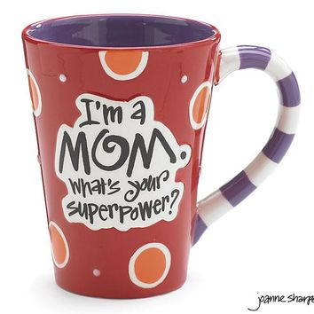 What's your Super Power? I'm a Mom Mug with Gift Box