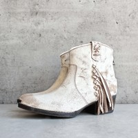 very volatile - lookout fringe leather bootie (women) - more colors