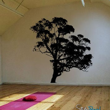 Vinyl Wall Decal Sticker Big Tree #546