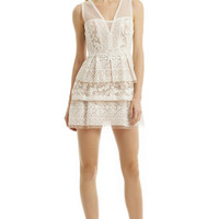 BCBGMAXAZRIA Scarletta Lace Dress