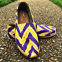 LSU - CHEVRON TOMS. High School, College, Pro Teams