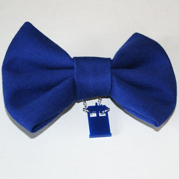Doctor Who Tardis shoe clips