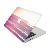 Abstract Ocean Tide Skin for the Apple MacBook