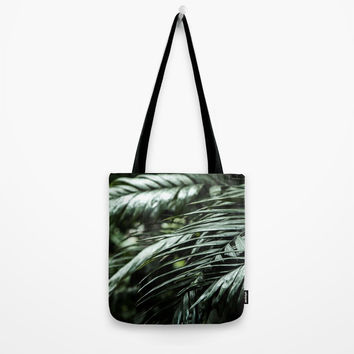 Tropical leaves 03 Tote Bag by VanessaGF