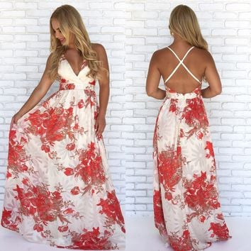 Fairytale Floral Maxi Dress