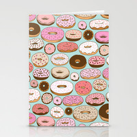 Donut Wonderland Stationery Cards by Kristin Nohe