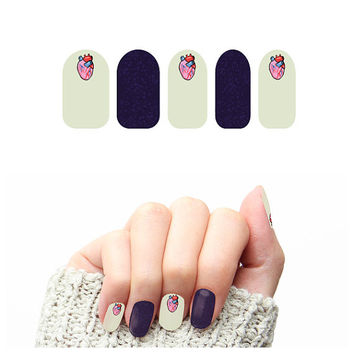 Never Miss a Beat - Nail Wraps (Set of 22)