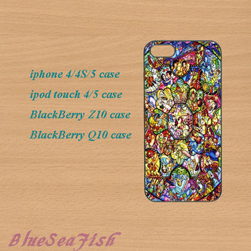 iphone 4 case,iphone 5 case,ipod touch 4 case,ipod touch 5 case,Blackberry z10 case,Blackberry q10--stained glass,in plastic and silicone