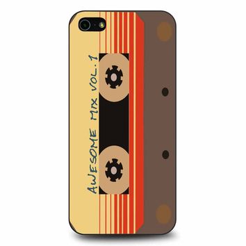 Awesome Mix Vol 1 Minimalist iPhone 5/5s/SE Case