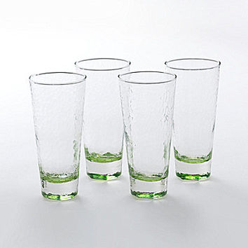 Shiraleah Elba Highball Glass, Set of 4