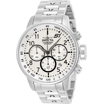 Invicta Men's 23078 S1 Rally Quartz Multifunction Silver Dial Watch