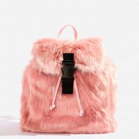 **Candy Faux Fur Backpack by Skinnydip - Bags & Wallets - Bags & Accessories
