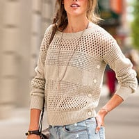 Open-stitch Sweater - Victoria's Secret