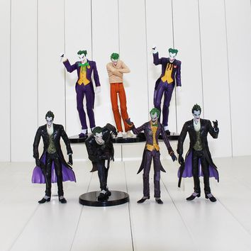 7 Styles Batman The Dark Knight Action Figure Batman The Joker With Knife Gun Weapon Model Toys