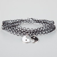 Full Tilt 2 Pack Yin Yang Tattoo Chokers Black One Size For Women 25928610001