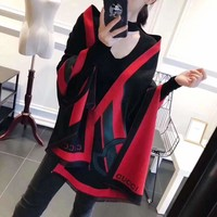 """Gucci""Woman Casual Wild Fashion Classic Print Shawl Scarf"