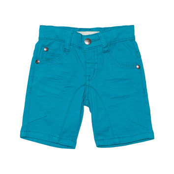 Color Bermudas Denim Shorts