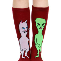 NERMIS AND BUTTHEAD SOCKS