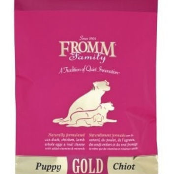 FROMM DOG DRY - GOLD PUPPY 15LB -  - FROMM PET FOODS - UPC: 72705115532 - DEPT: FROMM PET FOOD
