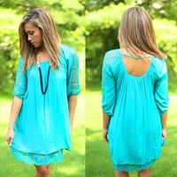 The Jade Set Life Tunic Dress