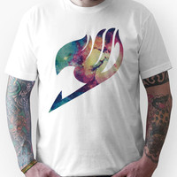 Galaxy Fairy tail logo Unisex T-Shirt
