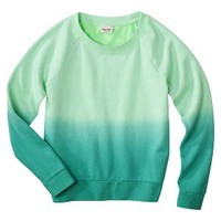 Mossimo Supply Co. Juniors Ombre Crew Neck Sweatshirt - Assorted Colors