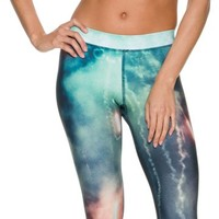 ELECTRIC & ROSE SHELL ACTIVE CAPRI