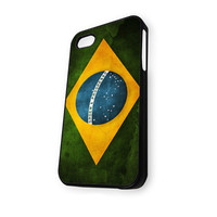 Brazil Flag iPhone 5C Case