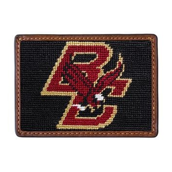 Boston College Needlepoint Credit Card Wallet by Smathers & Branson